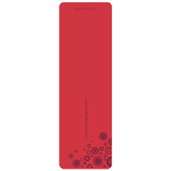 Stott Pilates Pilates Express Mat (red bubble)
