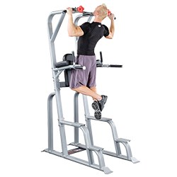 Body-Solid Pro Clubline Vertical Knee Raise Chin Dip