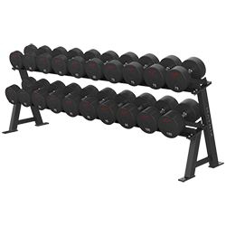 Matrix Varsity Series 2-Tier Dumbbell Rack