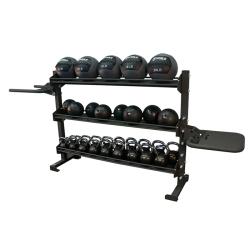 Torque 6 Foot Universal Storage/Dip/Plyo Rack