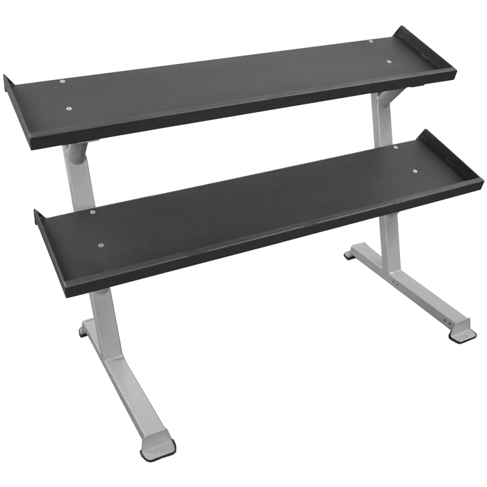 Inflight Fitness 2-Tier Dumbbell Rack System
