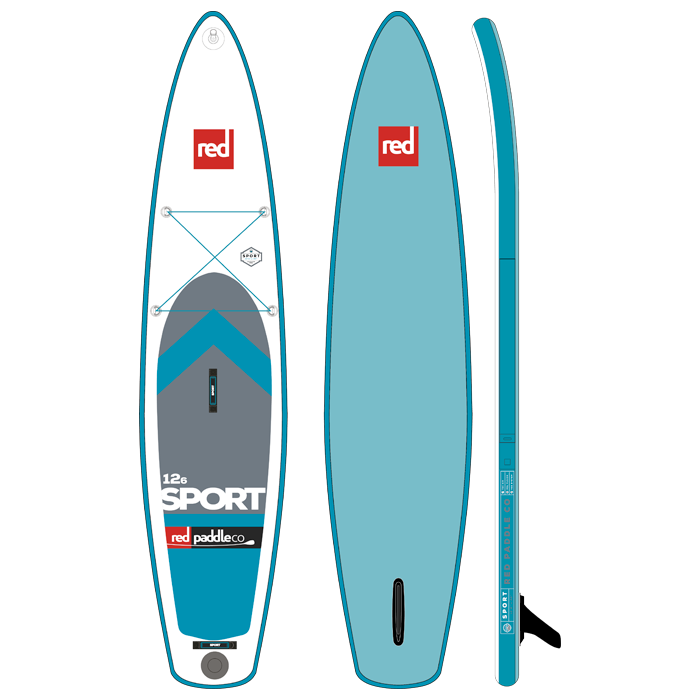 Red Paddle Co 12ft 6in Sport MSL SUP