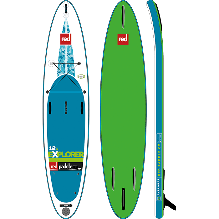 Red Paddle Co 12ft 6in Explorer MSL SUP