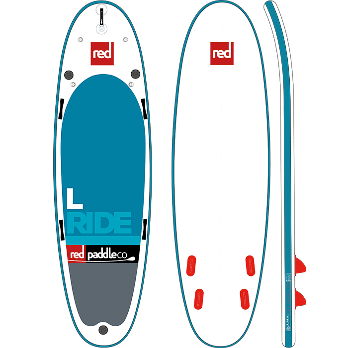Red Paddle Co 14ft 0in Ride L MSL SUP