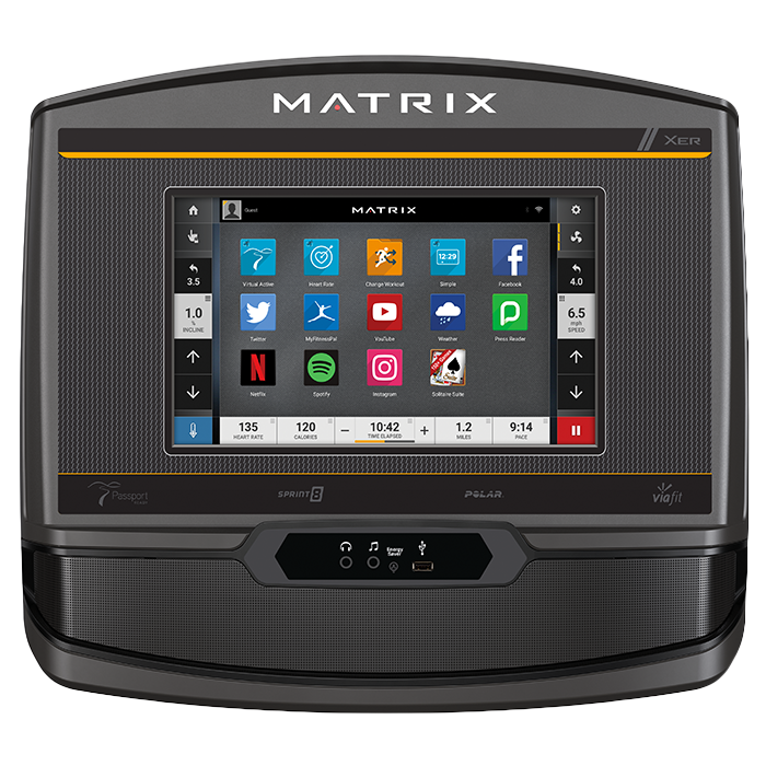 Matrix A30 Ascent Trainer with XER Console (Console Remanufactured)