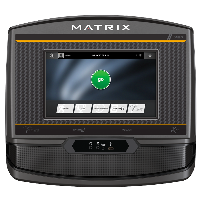 Matrix A50 Ascent Trainer with XER Console (Console Remanufactured)