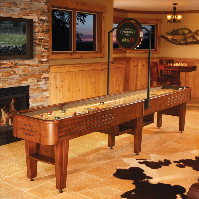 Brunswick Andover 12 ft Shuffleboard Table