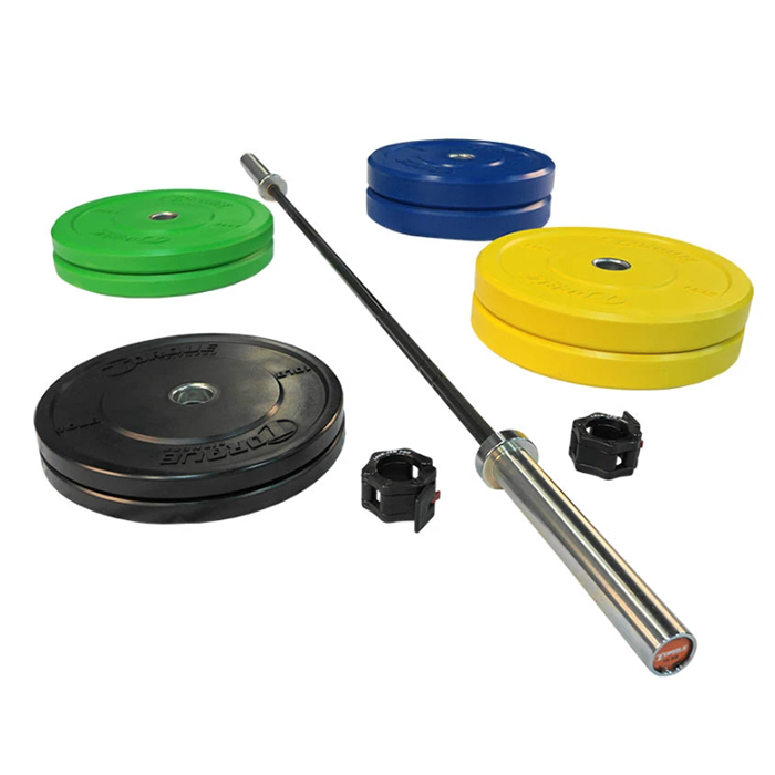Torque Bumper Colored Package 15 Kg Bar