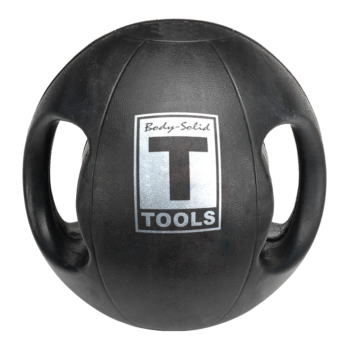 Body-Solid Dual-Grip Medicine Ball - 12 lbs
