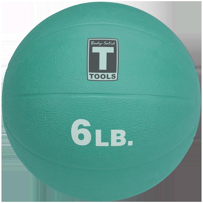 Body-Solid Medicine Ball - 6 lbs (Aqua)