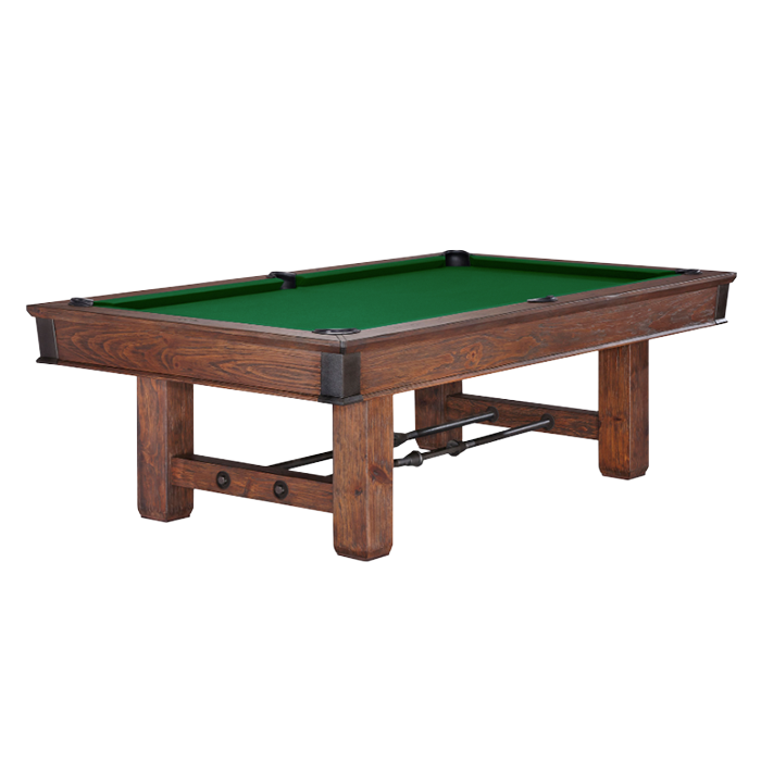 Brunswick Canton 8 ft Pool Table - Black Forest
