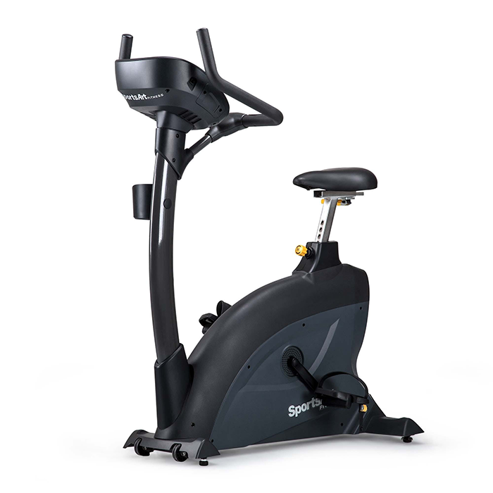 SportsArt C545U-16 Upright Bike with Touchscreen Console
