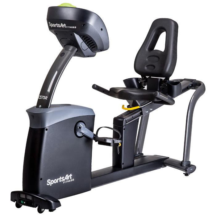 SportsArt C575R-15 Recumbent Bike with 15 inch Touchscreen LCD Console
