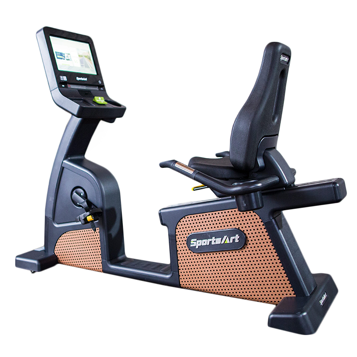 SportsArt C576R-16 Recumbent Bike with Touchscreen Console
