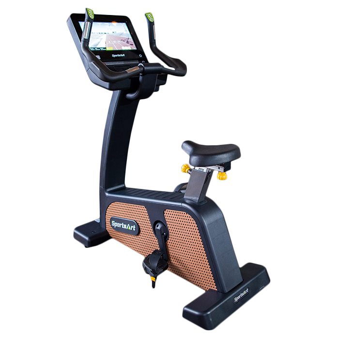 SportsArt C576U-16 Upright Bike with Touchscreen Console