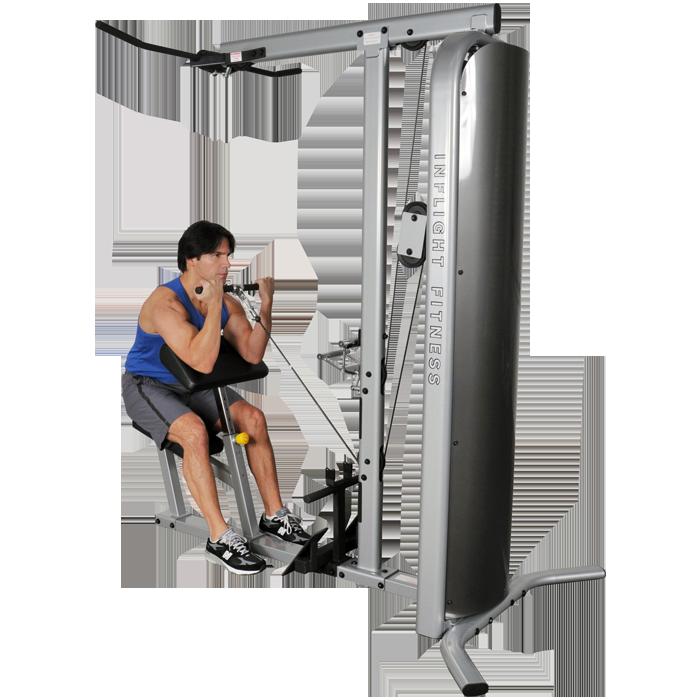 Inflight Fitness Multi-Lat Arm
