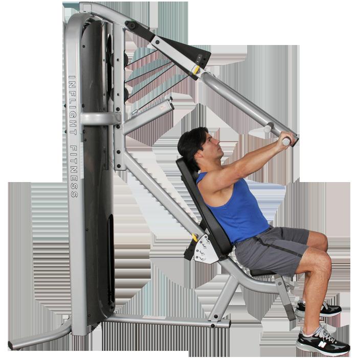 Inflight Fitness Multi-Press
