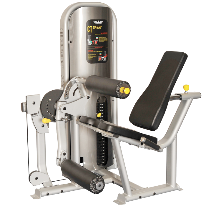 Inflight Fitness Seated Leg Extension Leg Curl