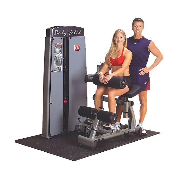 Body-Solid Pro Dual Ab and Back Machine