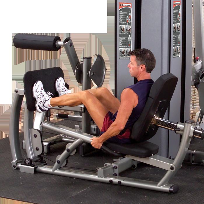 Body-Solid Pro Dual DGYM Leg / Calf Press Component