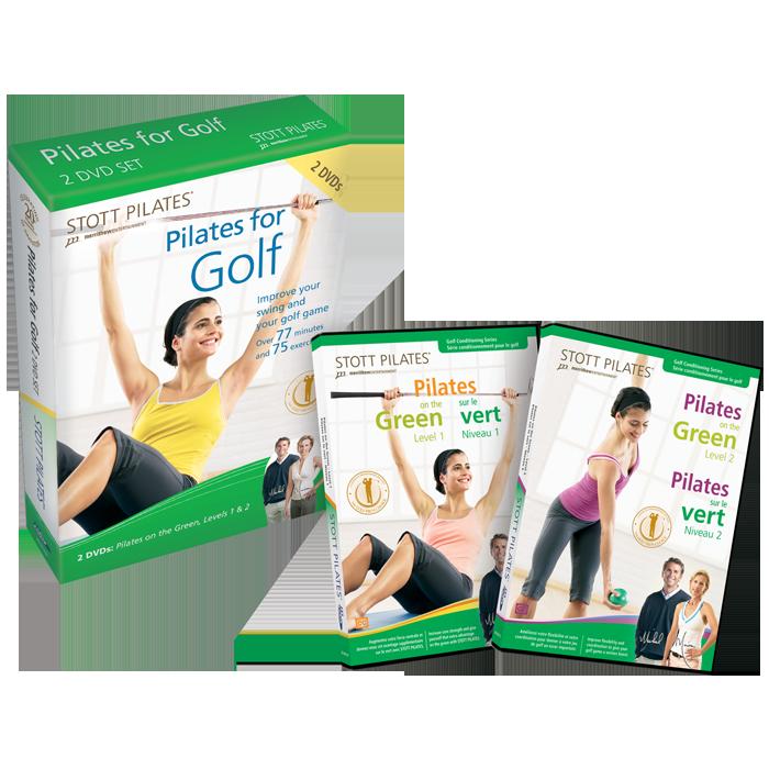 Stott Pilates Pilates for Golf DVD Two-Pack