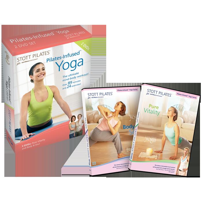 Stott Pilates Pilates-infused Yoga DVD Two-Pack
