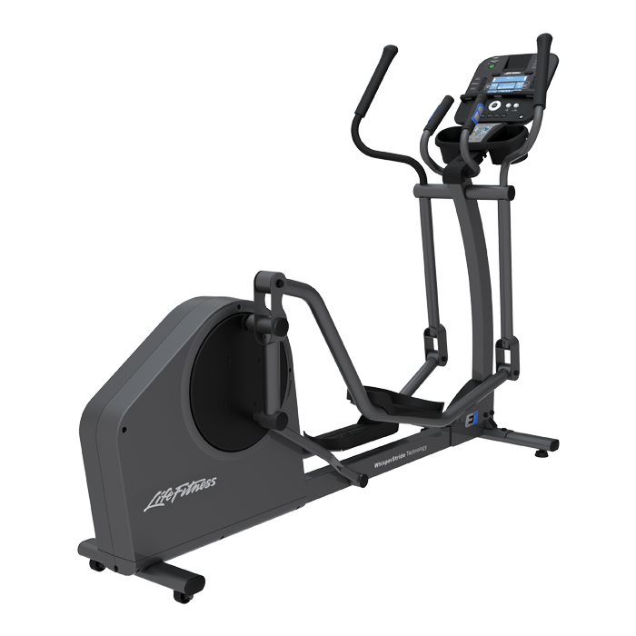 Life Fitness E1 Elliptical Cross-Trainer with Track+ Console - Floor Model