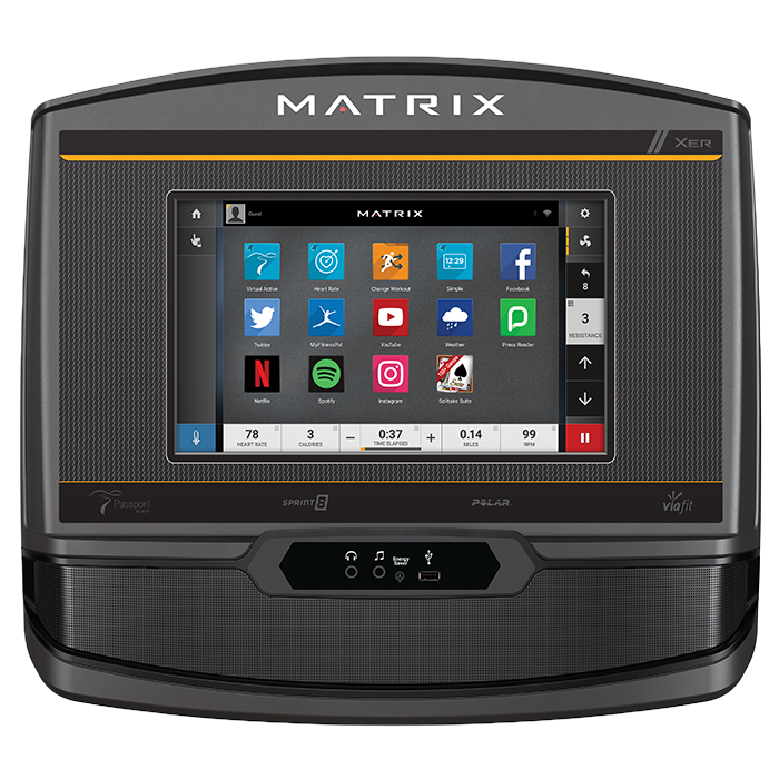 Matrix E50 Elliptical with XER Console