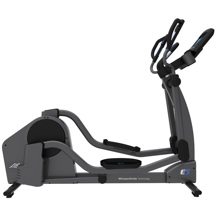 Life Fitness E5 Elliptical Cross-Trainer with Go Console