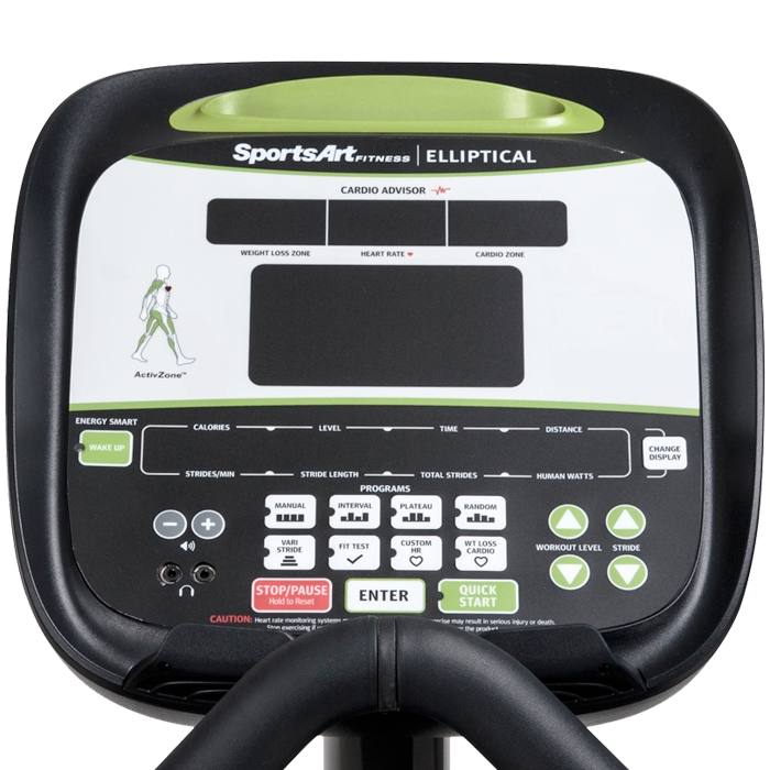 SportsArt E840 Elliptical