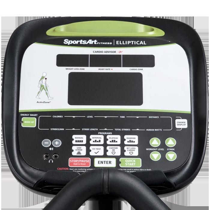 SportsArt E840 Elliptical