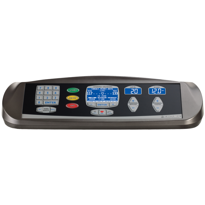 Landice E9 ElliptiMill with Cardio Control Panel