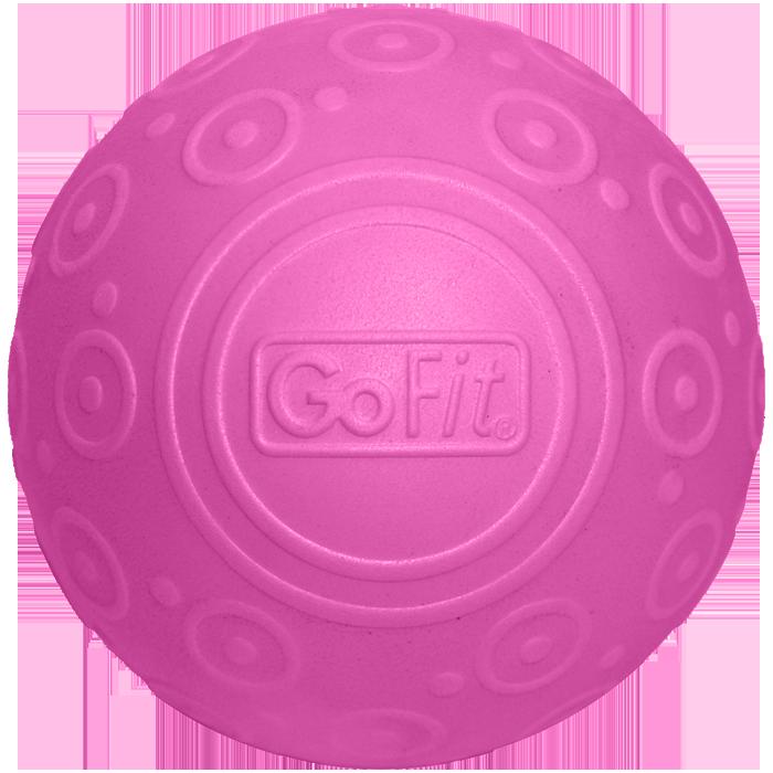 GoFit 5`` Pink Ribbon Massage Ball