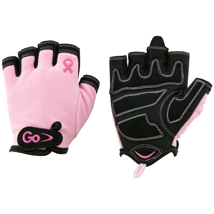 GoFit Women's Breast Cancer Awareness X-Trainer Gloves