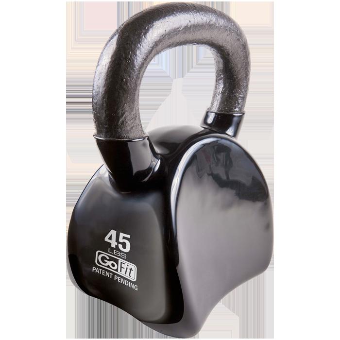 GoFit 45 lbs Countor Kettlebell