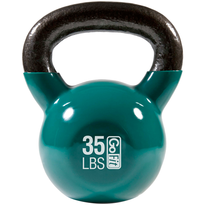GoFit 35 lbs Kettlebell