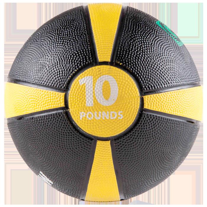 GoFit 10 lbs Rubber Medicine Ball