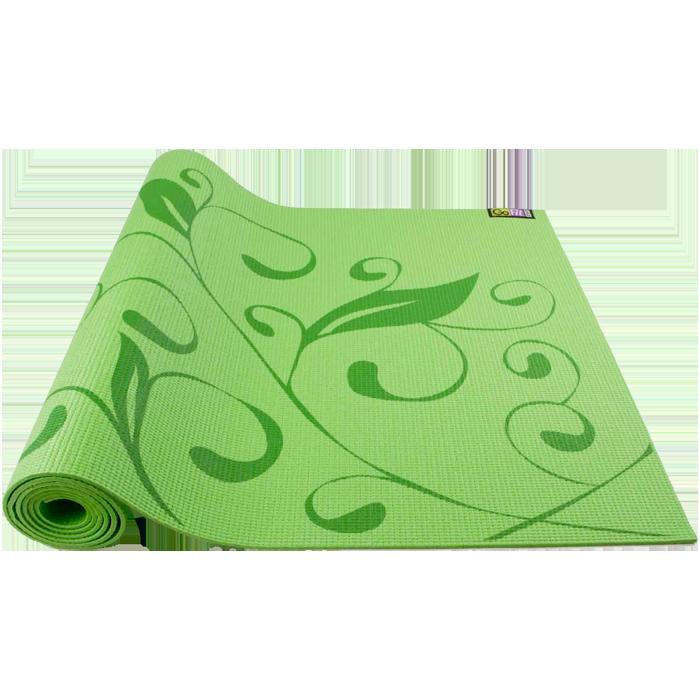 GoFit Designer Yoga Mat - Hummingbird Garden