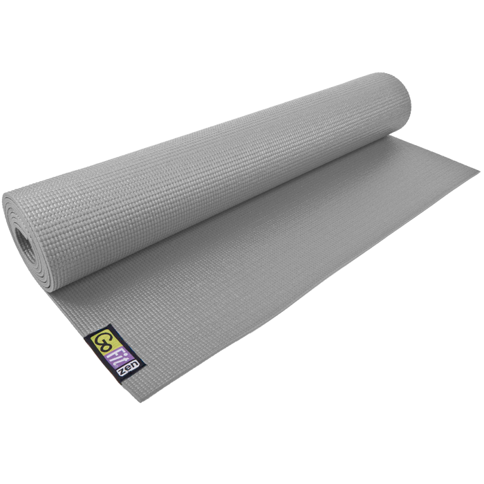 GoFit Yoga Mat - Gray