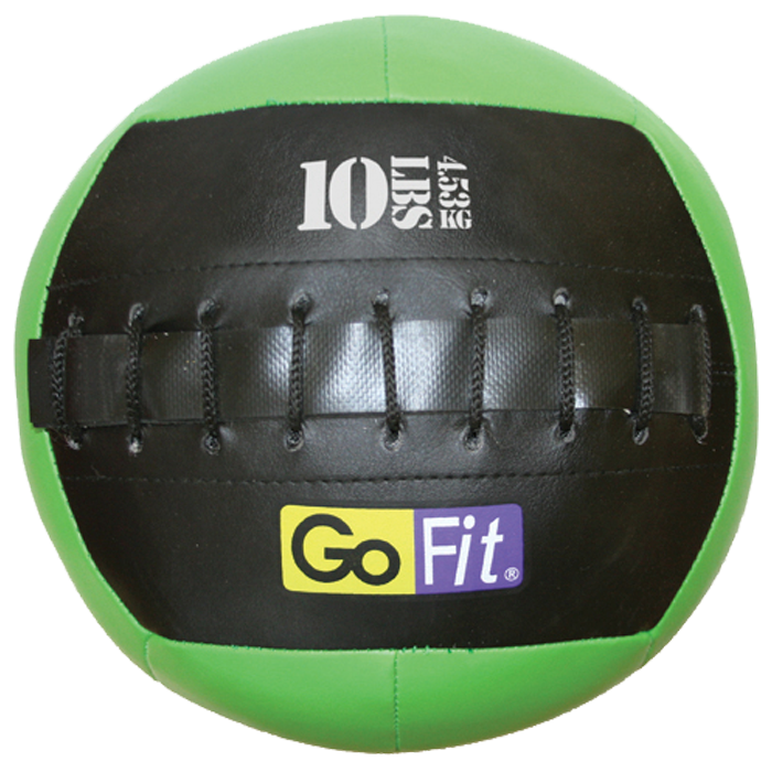 GoFit 10 lbs 10-inch Mini Wall Ball