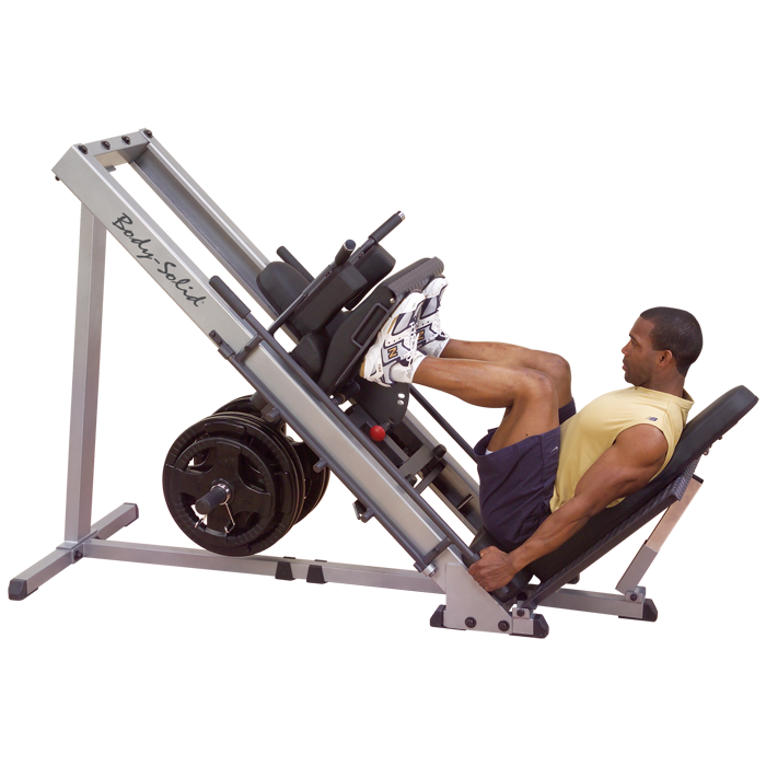 Body-Solid Leg Press Hack Squat Machine