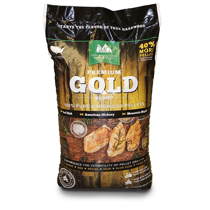 Green Mountain Grill Premium Gold Blend - 28 lbs Bag