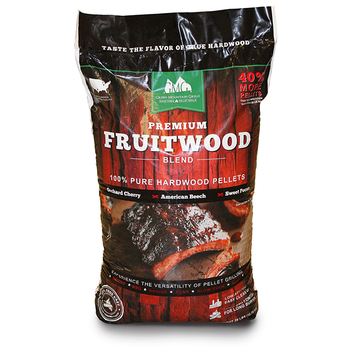 Green Mountain Grill Premium Fruitwood Blend