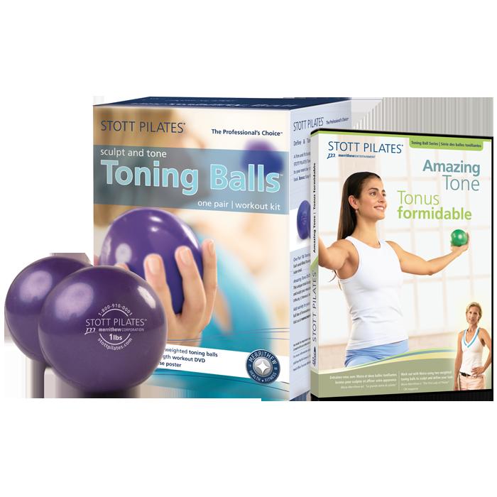 Stott Pilates Toning Ball Power Pack