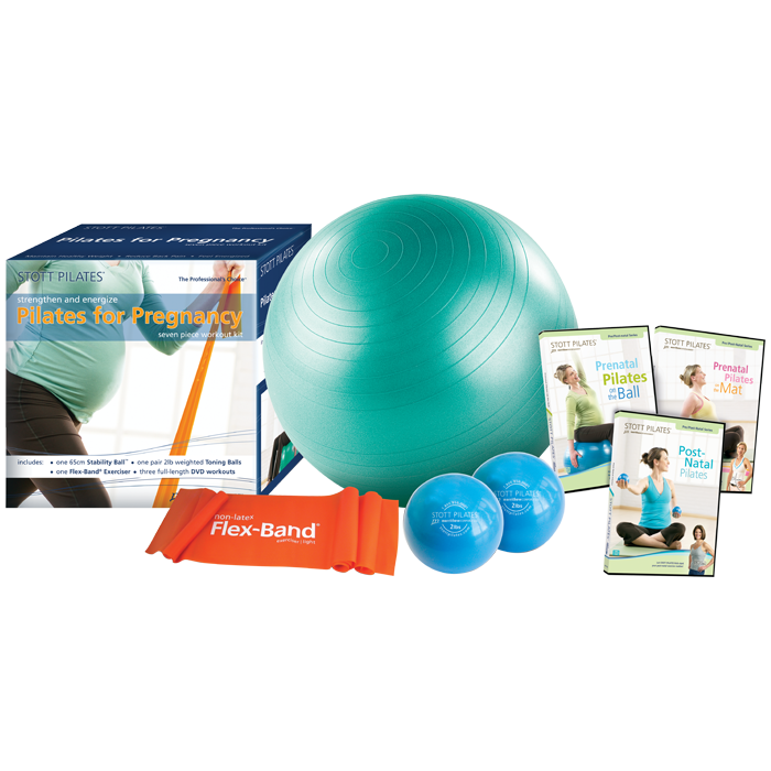 Stott Pilates Pilates for Pregnancy Workout Kit