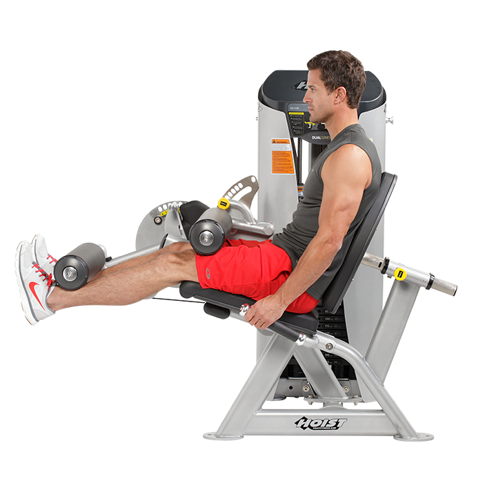HD-3400 Leg Extension-Leg Curl