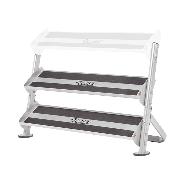 Hoist 2 Tier 48in Tray Dumbbell Rack