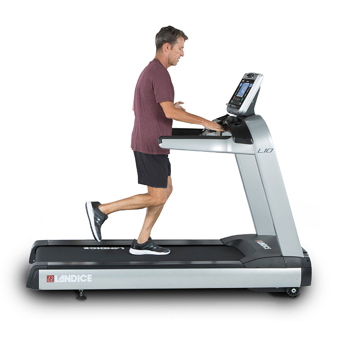 Landice L10 Club Treadmill with Cardio Control Panel