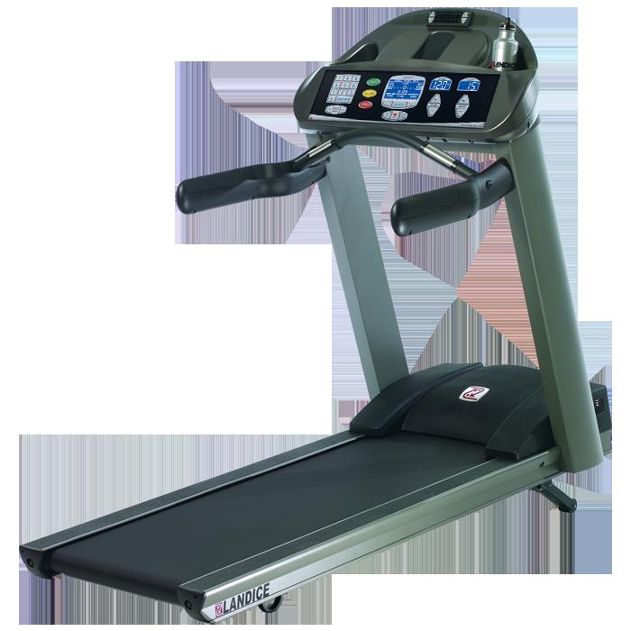 Landice L7 LTD Treadmill with Cardio Control Panel