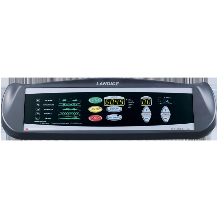 Landice L7 Treadmill with Pro Trainer Control Panel (Orthopedic Belt)